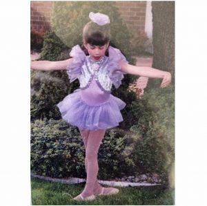 Miss Allie as a little dancer
