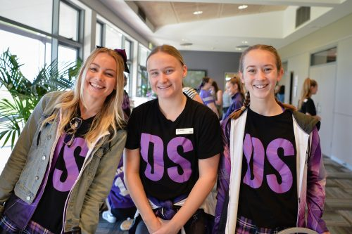 3 of our Dance Sensations teachers, Miss Shanae, Miss Josie and Miss Brooke