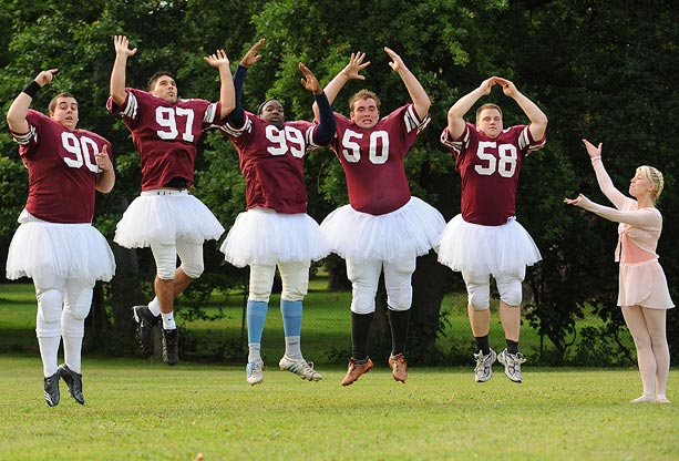 Football ballerinas