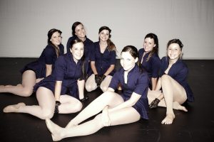 Miss Reegan in one of her Troupes