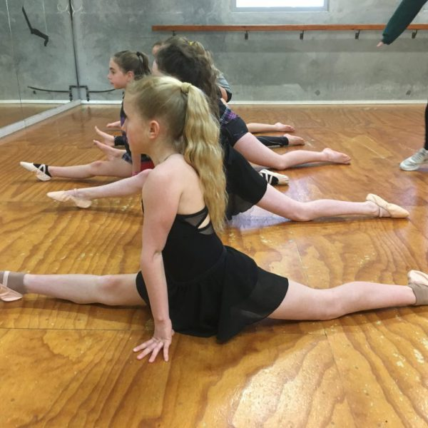 Stretching is a vitally important part of any dance class