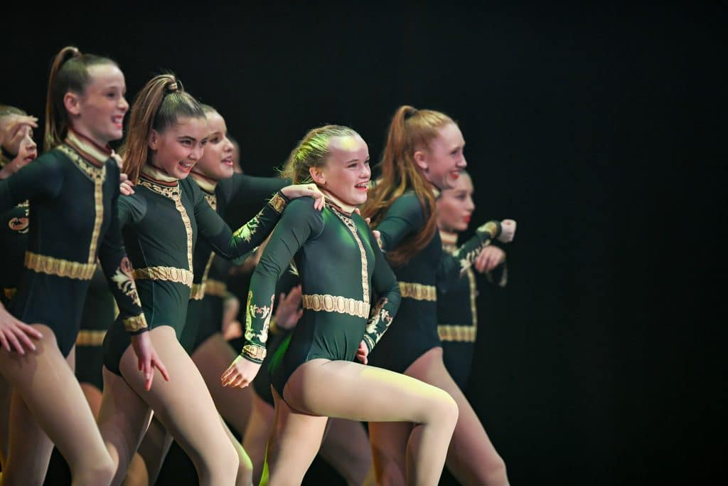 One of our Jazz Dance classes performing at our end of year concert