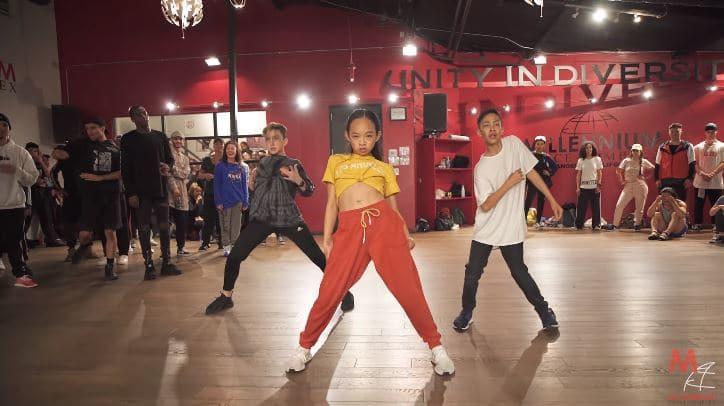 young inspiring dancers